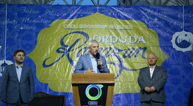 Başkan Enver Yılmaz açıkladı: Gölköy'de büyük yatırım var
