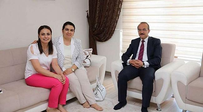 Ordu Valisi Yavuz ve eşinden şehit ailelerine ziyaret