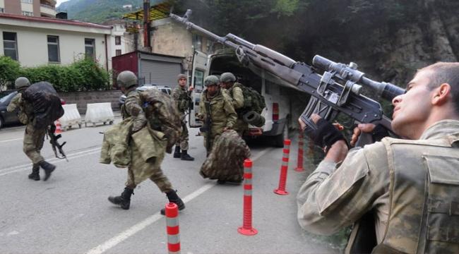 Trabzon Maçka'da büyük operasyon başladı