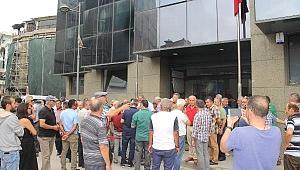 Borsa Önünde Fındık Fiyatı Protestosu