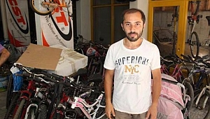 Ordu'da bisiklet tamircisine 500 bin liralık lüks otomobil