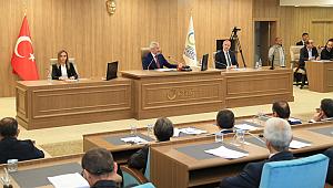 Başkan Enver Yılmaz'dan Meclis'te önemli açıklamalar