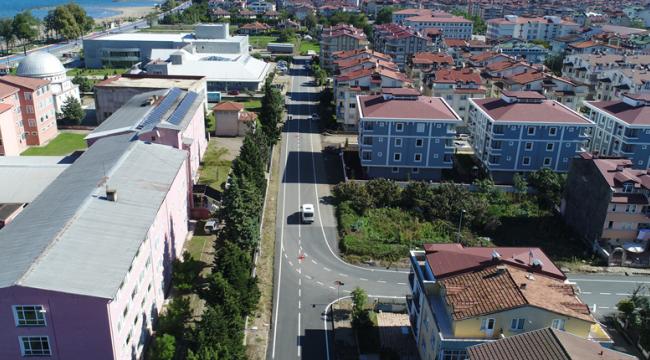 Büyükşehir Belediyesi'nden konforlu asfalt