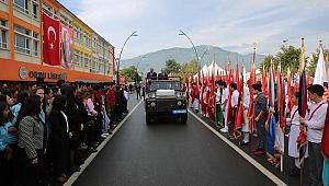 Cumhuriyet Bayramı Ordu'da coşkuyla kutlandı