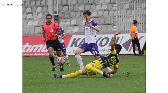 Galibiyet geldi! Yeni Orduspor - Kırıkhanspor: 2-1