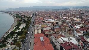 Ordu Altınordu şehir merkezinden görüntüler