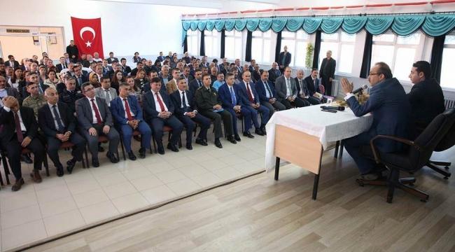 Vali Yavuz Kabadüz'ü ziyaret etti