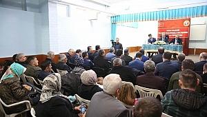 Vali Seddar Yavuz vatandaşların sorunlarını dinliyor