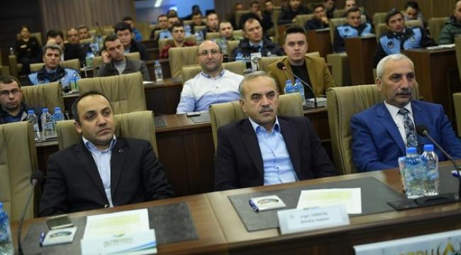 Başkan Tekintaş çalışmaları seminerde anlattı