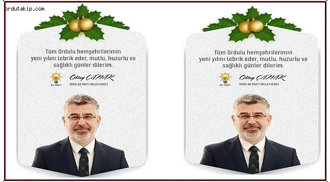 Yeni Yılınız Kutlu Olsun.... Oktay Çanak (AK Parti Ordu Milletvekili)