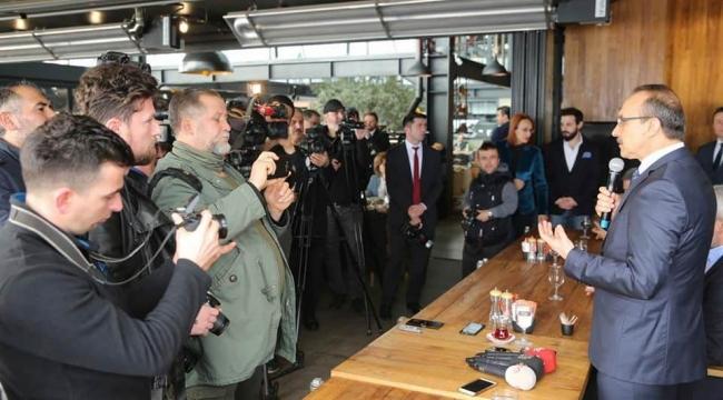 Gazeteciler, Gazeteciler Günü'nde Kahvaltıda Buluştu
