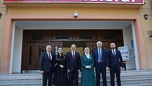 AK Partili Çalık'tan Vali'ye ziyaret