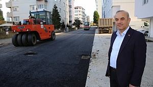 Altınordu Belediyesi'nden asfalt seferberliği