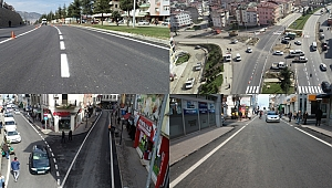 Büyükşehir Belediyesi'nden asfalt çalışması