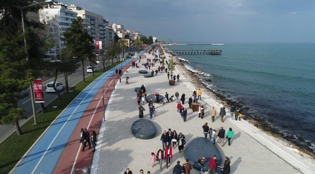 Ordu Büyükşehir Belediyesi'nin sahil projesi yıllığa girdi