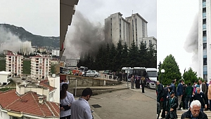 Ordu Devlet Hastanesi'nde yangın korkuttu
