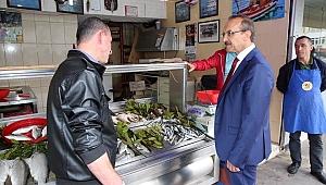 Vali Yavuz, Esnaf Ziyaretlerinde Bulundu