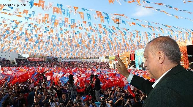 Cumhurbaşkanı Erdoğan Ordu'da fındığı konuştu