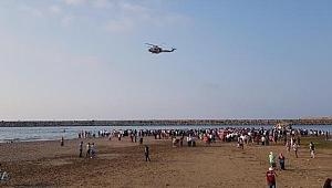 Gülyalı'da 2 kişi denizde boğuldu 2 kişi tedavi altında