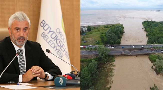 Başkan Enver Yılmaz sel zararını açıkladı