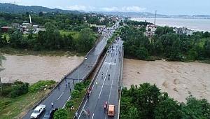 Sel nedeniyle Ordu'da 500 bin TL acil yardım gönderildi