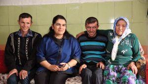 Bayan Yavuz, Gerce'de 6 Engelli Ailesini Ziyaret Etti