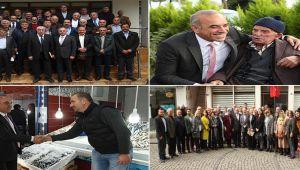 Başkan Tekintaş'a Perşembe'de yoğun ilgi