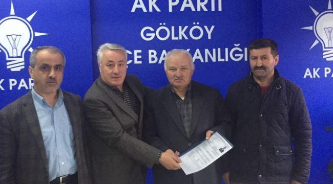 Fikri Uludağ Gölköy Belediyesi için başvurdu