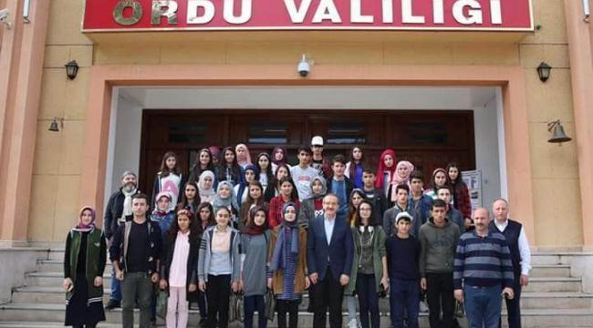 Vali Yavuz'un Muş'tan misafirleri vardı