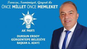Dursun Ersoy'dan birlik beraberlik mesajı