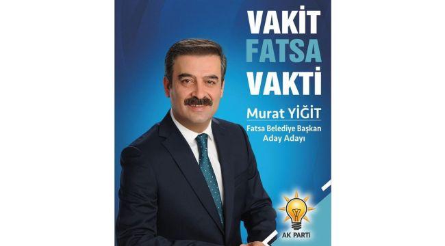 Murat Yiğit Fatsa için projelerini anlattı