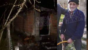Evde yangın çıktı! Asım Yılmaz hayatını kaybetti