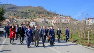 Vali Yavuz Çatalpınar'da incelemelerde bulundu