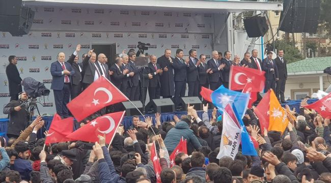 Cumhurbaşkanı Erdoğan Ordu'da sert konuştu