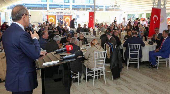 Gaziler onuruna program düzenlendi