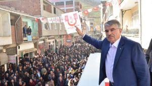 İdris Naim Şahin Tepealan'da projelerini anlattı