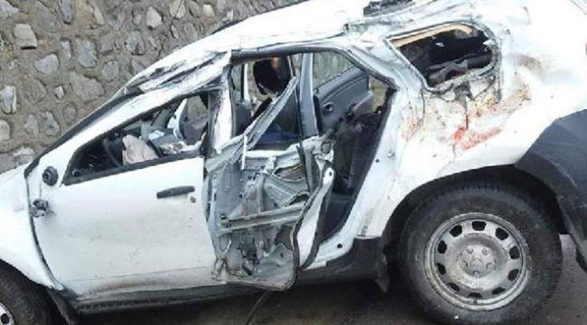 Ordu'da feci kaza: 2 ölü, 3 yaralı