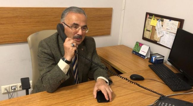 """""""Alo Hilmi Güler ben"""" beyaz masada başkan var!"""