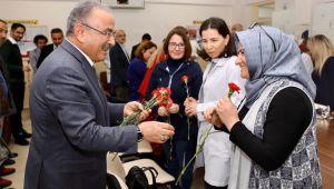 Başkan Güler'den ziyaret