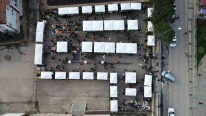 Altınordu Belediyesi'nden pazarcılara yeni hizmet