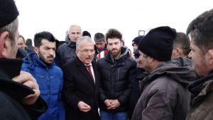 Başkan Güler İlküvez'de