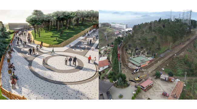 Boztepe'ye yeni projeler