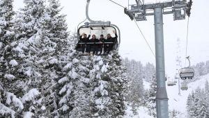 Çambaşı yaylasında kar festivali düzenlendi