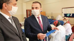 Fatsa Belediyesinde Maske Seferberliği