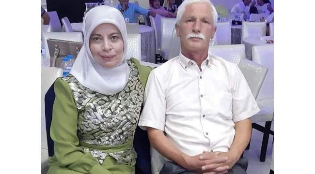 Öldürülen çift toprağa verildi