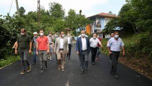 Ordu'nun Fatsa İlçesine bağlı Yalıköy Mahallesi Tozdan Kurtuldu