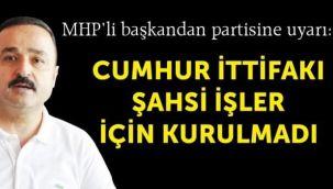 Başkan Naci Şanlıtürk'ten teşekkür