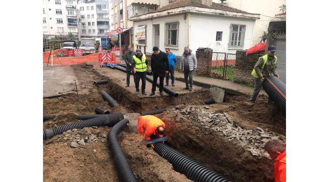 Altınordu'da Altyapı Çalışması Başlatıldı