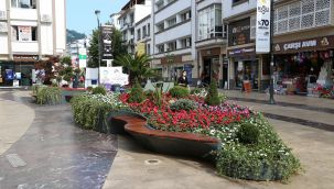 Süleyman felek Caddesi'ne Yeşil Adacık