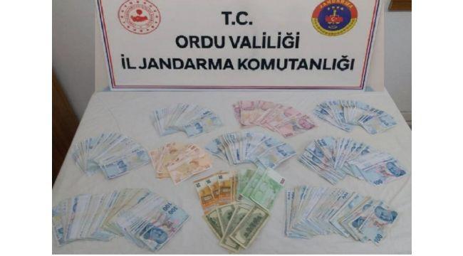 Jandarma Ekipleri Hırsızı Yakaladı